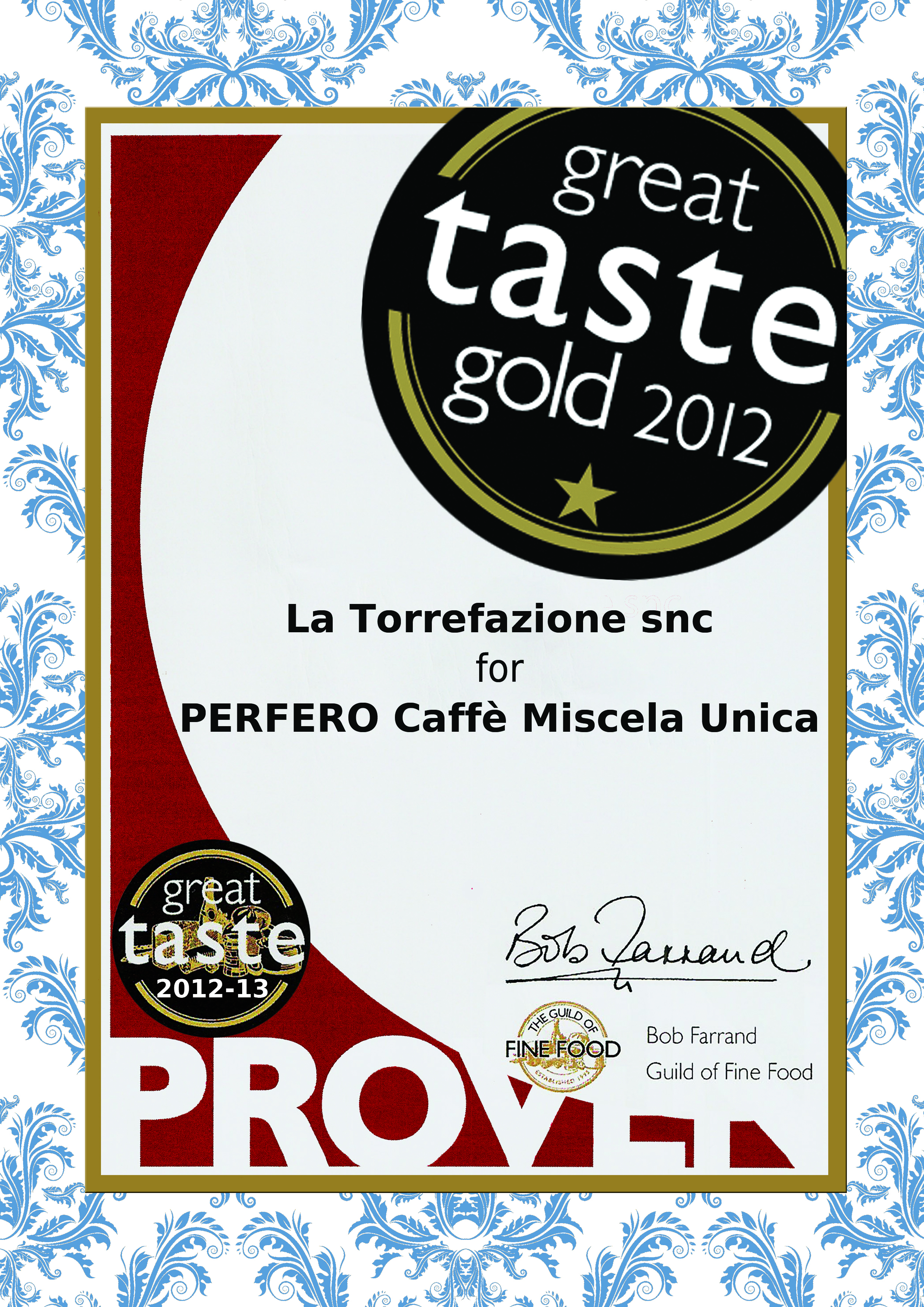 perfero caffe-great taste