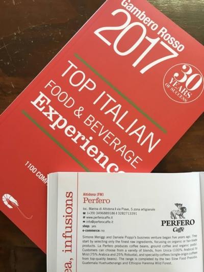 Caffè Guida Top Italian Food experience del Gambero Rosso 2016, 2017
