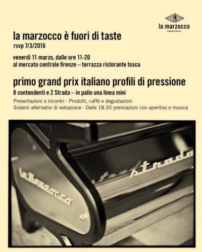 Profili di Pressione de La Marzocco 2016