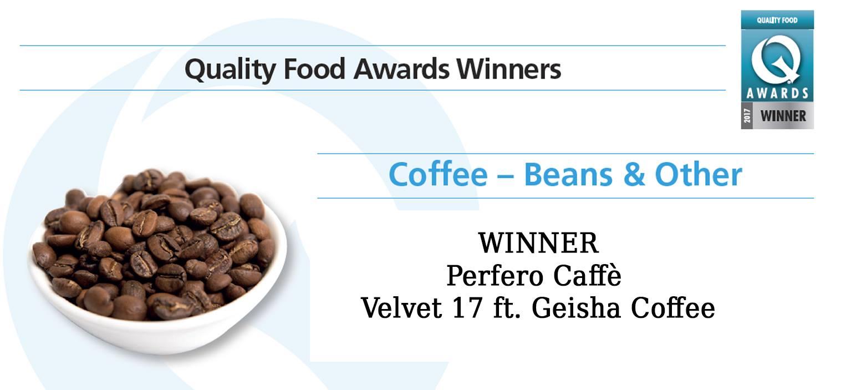 quality food awards winners